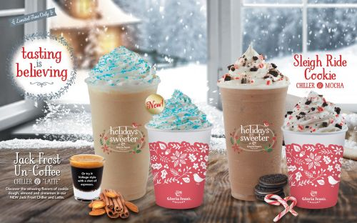 Tasting Is Believing This Holiday Season at Gloria Jean's Coffees