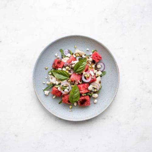 Chicken, Watermelon and Feta Salad