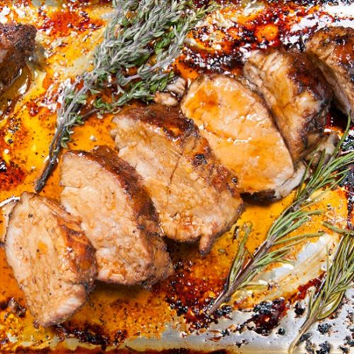 Honey Soy Pork Tenderloin