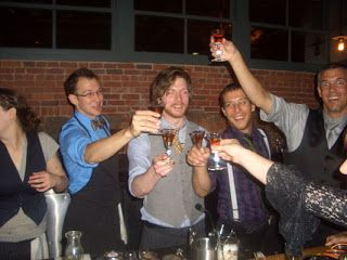 :: drinking behind the bar: :