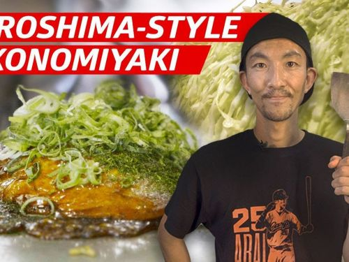 Watch One of Tokyo's Best Okonomiyaki Get Made
