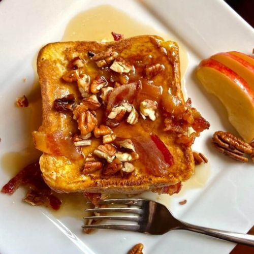 Bacon-Apple-Pecan Stuffed French Toast