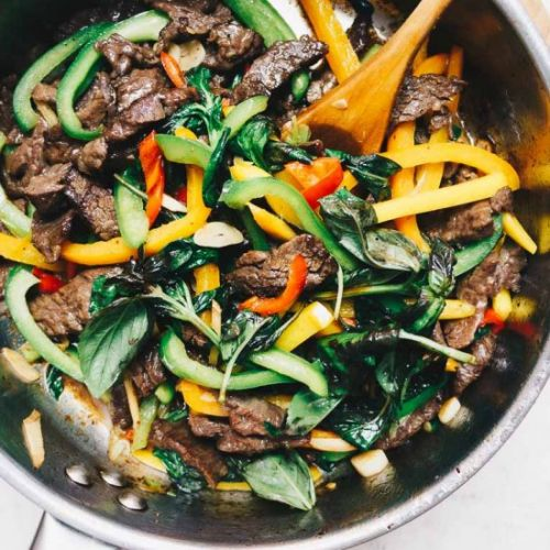 Paleo Whole30 Thai Basil Beef