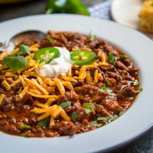 Real Deal Chili Con Carne