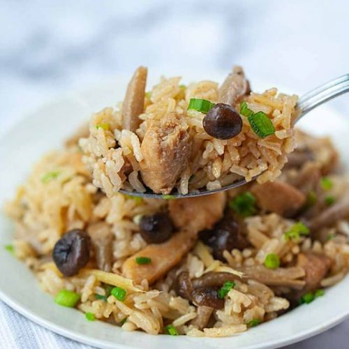 Sesame Oil Chicken Rice