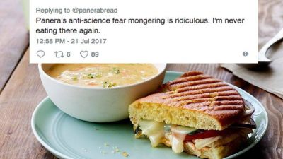 Twitter Drags Panera for Ill-Informed Tweet About Food Additives