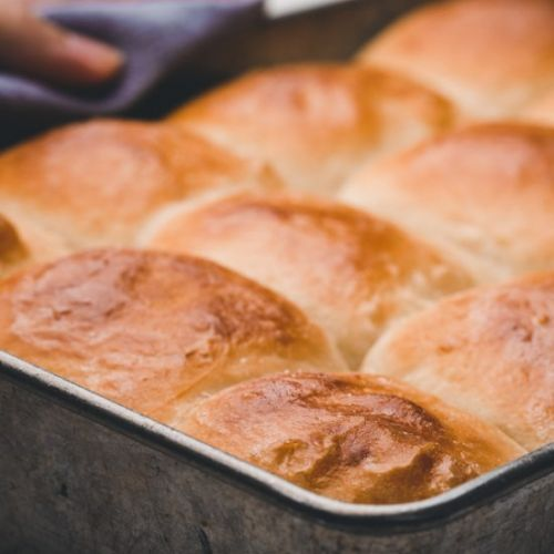 No Knead Dinner Rolls
