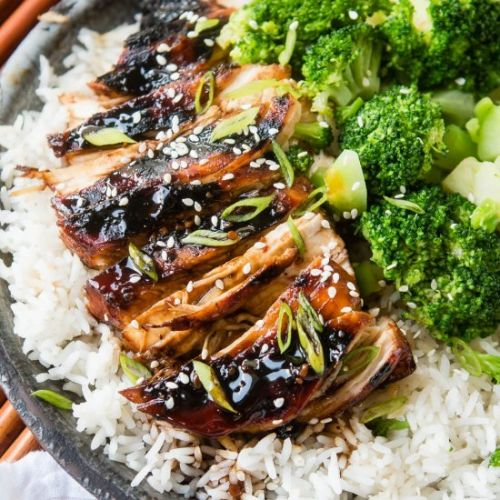 STICKY ASIAN GRILLED CHICKEN BREAST