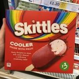 The UK's Fruity Skittles Ice Cream Bars Are Covered in a Layer of Strawberry Sorbet