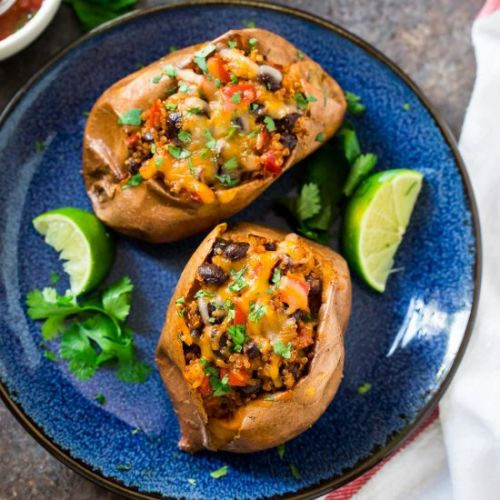 Southwest Stuffed Sweet Potatoes
