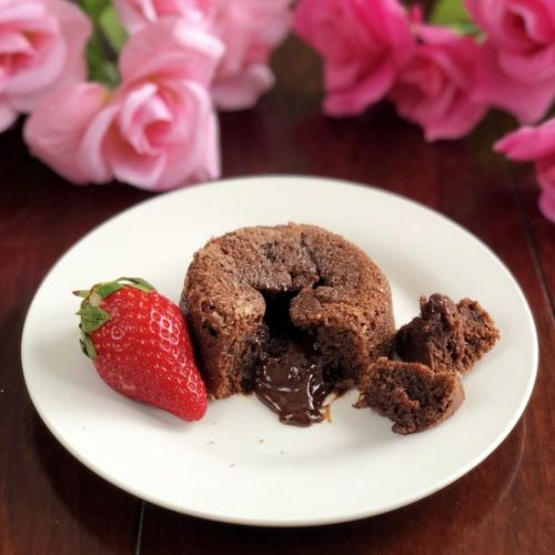 Chocolate Lava Cakes for Two