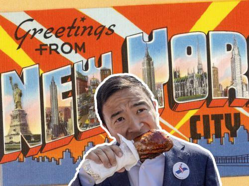 Can Andrew Yang Eat His Way Into the Hearts of New Yorkers?