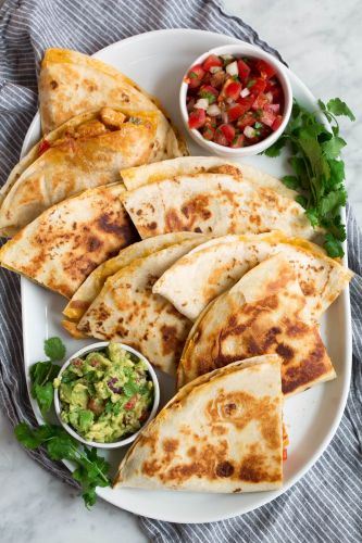 Loaded Quesadillas