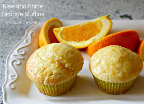 Rise and Shine Orange Muffins