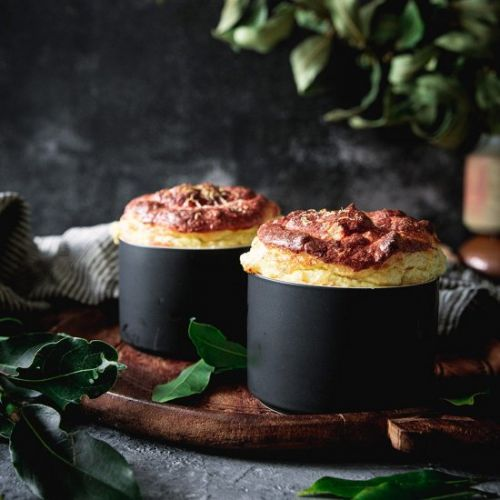 Low-Carb Cheese Soufflé