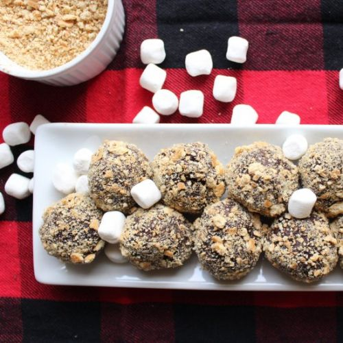 S'mores energy balls