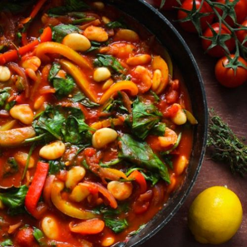 Lemony Butter Bean Stew