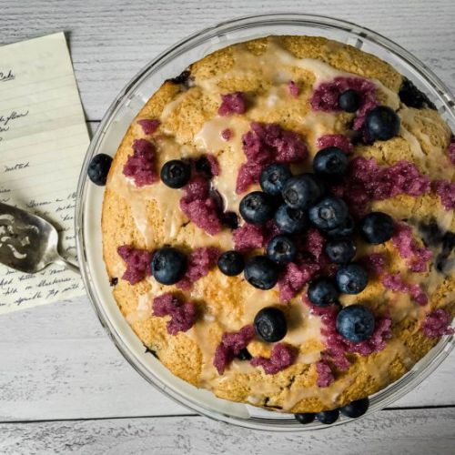 Huguenot Church Blueberry Cake
