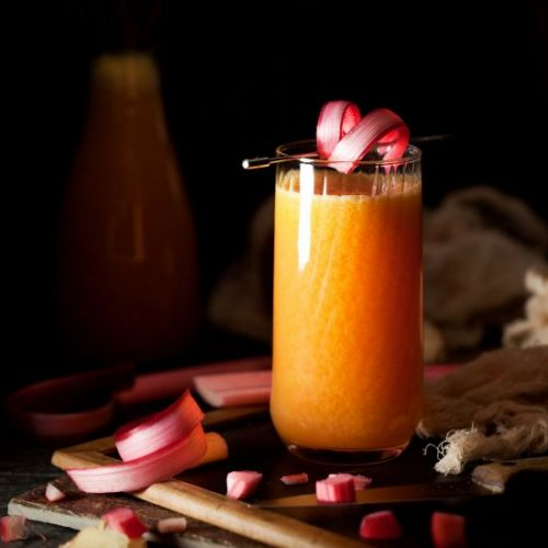 Rhubarb Juice & Ginger Orange Apple