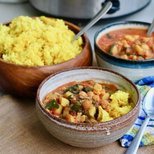 Slowcooker Chickpea Curry