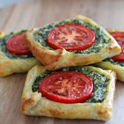 Spinach and Feta Galettes