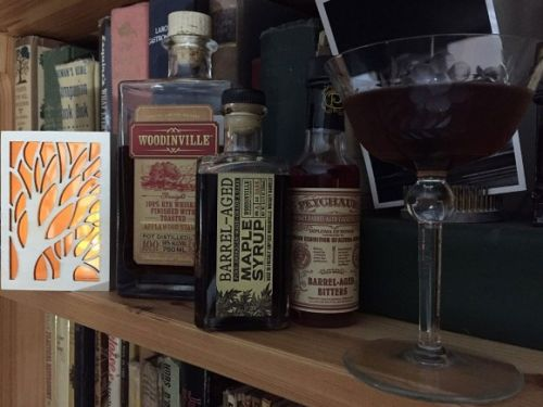 What I'm Drinking: New Trees, Old Trees with Woodinville Whiskey Rye and Maple Syrup
