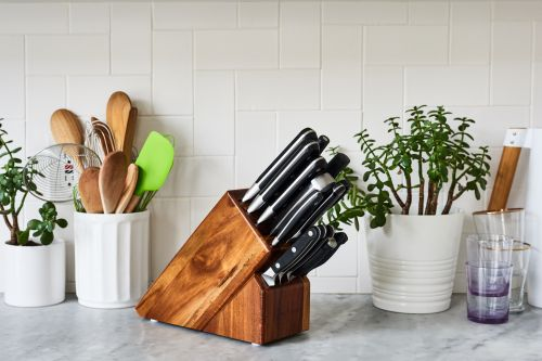 The Knife Set Our Gear Pro Uses at Home in Her Own Kitchen