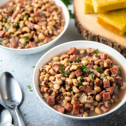Instant pot black-eyed peas and ham