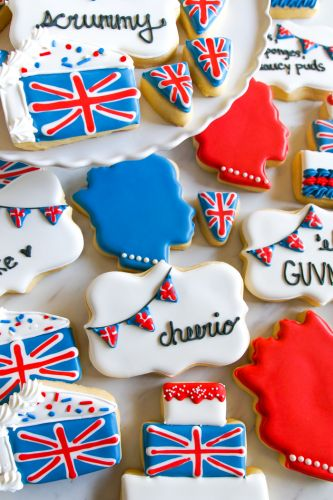 JOIN ME IN LONDON for biscuits, and sponges, and saucy puds.oh my!