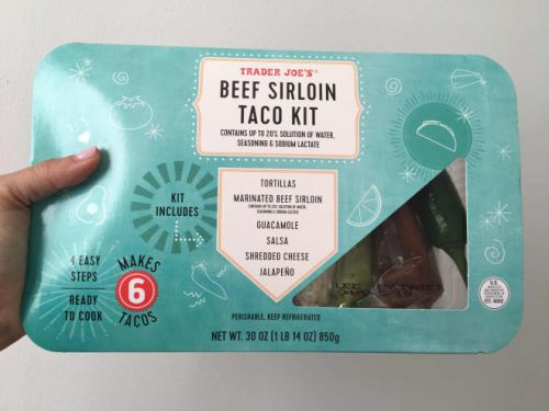 I Tried Trader Joe's Beef Sirloin Taco Kit and It Made Dinner So Much Easier