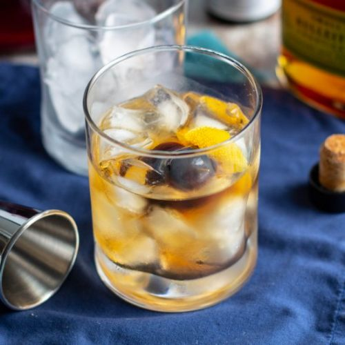 Classic Old Fashioned Cocktail