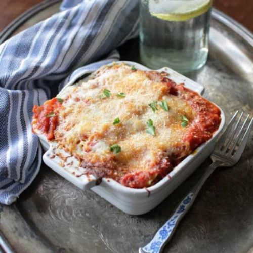 Lasagna For One