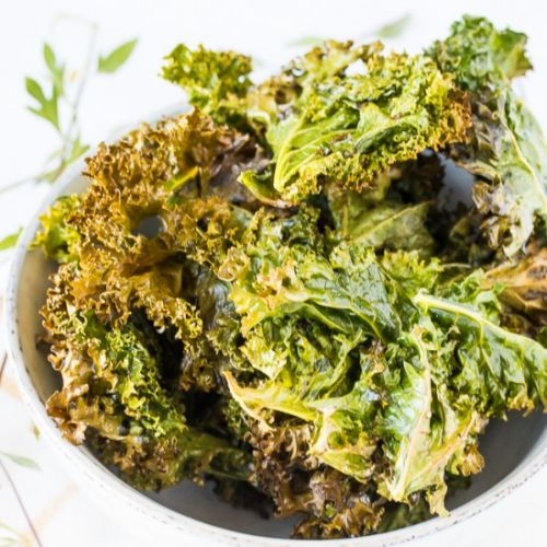 Easy Baked Kale Chips