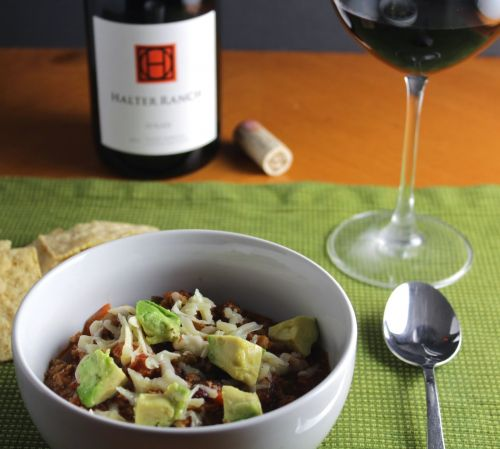 Turkey Chili and Wine Pairing