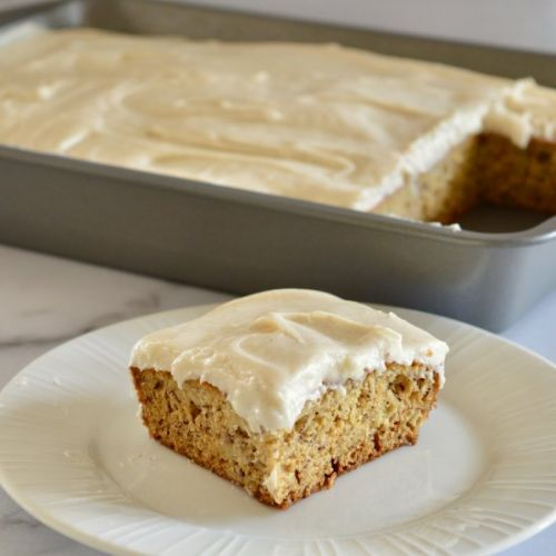 Brown Butter Banana Cake