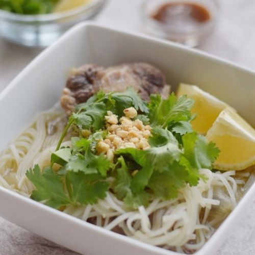 Oxtail Pho Recipe