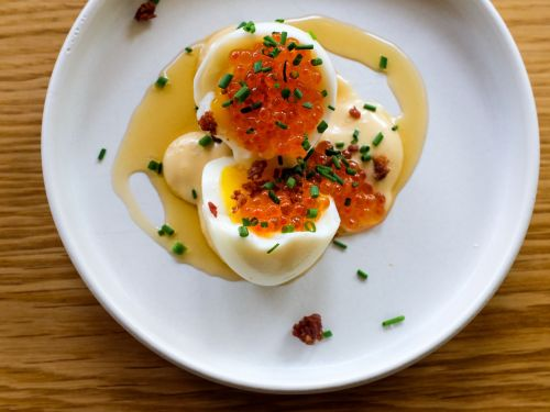 Chefs Can't Stop Making Bougie Deviled Eggs