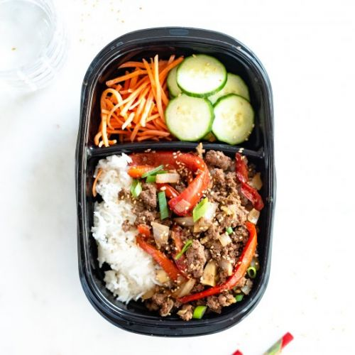 Meal Prep Asian Beef Bowls