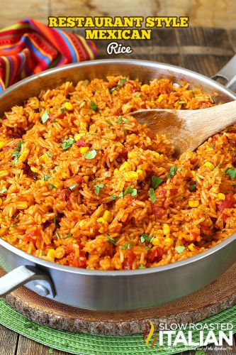 Restaurant-Style Mexican Rice