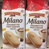 BRB, Dunking These New Amaretto Hot Chocolate Milano Cookies in a Steaming Cup of Cocoa