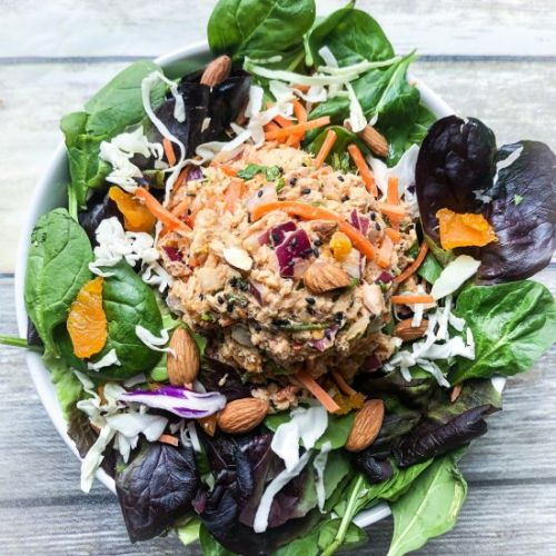 Healthy Asian Tuna Salad