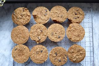 Oat Bran Muffins - Lower Carb, All Real, All Good