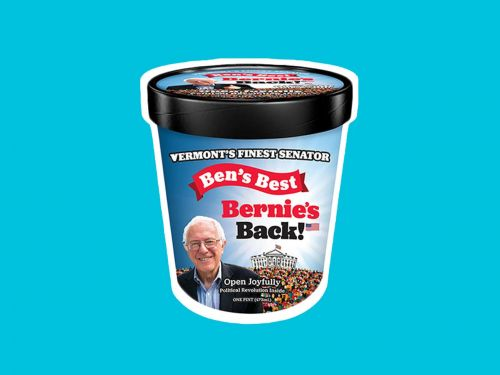 Ben and Jerry Hope You'll Feel the Bern With a Limited-Edition Ice Cream for Bernie Sanders
