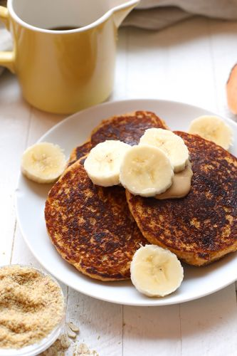 Healthy Sweet Potato Pancakes