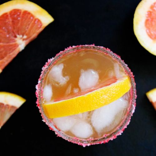 Grapefruit Beer Margaritas