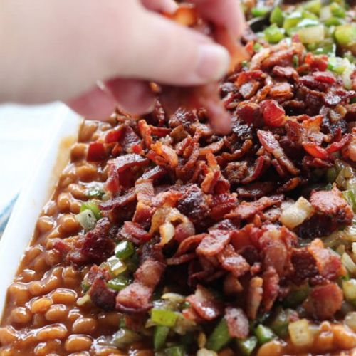 Bacon Lover's Baked Beans