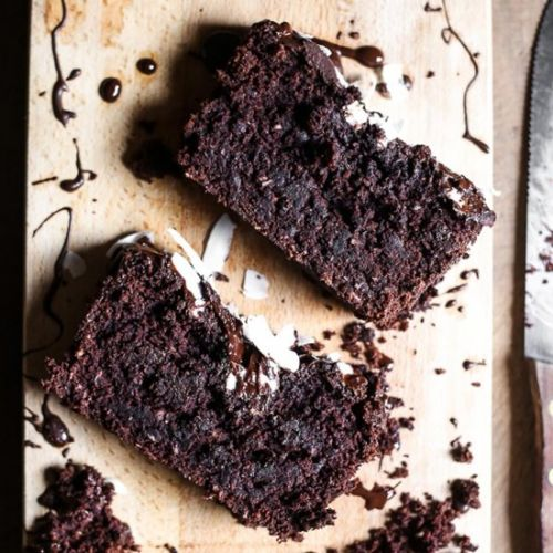 Chocolate Coconut Banana Loaf
