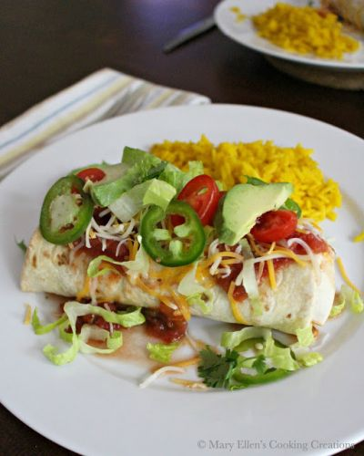 Beef and Bean Burritos