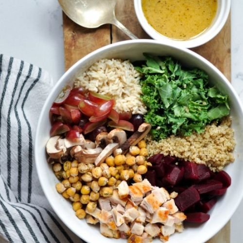 Chicken & Kale Grain Bowl