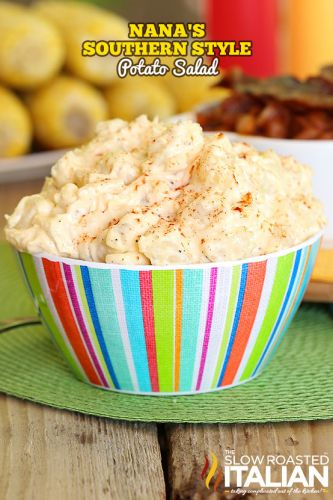 Best Ever Southern Style Potato Salad